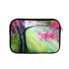 Forests Stunning Glimmer Paintings Sunlight Blooms Plants Love Seasons Traditional Art Flowers Sunsh Apple Macbook Pro 15  Zipper Case by Amaryn4rt