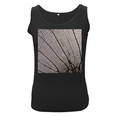 Sea Fan Coral Intricate Patterns Women s Black Tank Top