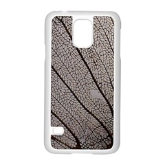 Sea Fan Coral Intricate Patterns Samsung Galaxy S5 Case (white) by Amaryn4rt
