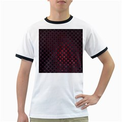 Star Patterns Ringer T-Shirts