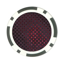 Star Patterns Poker Chip Card Guard (10 Pack) by Amaryn4rt
