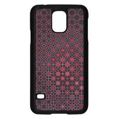 Star Patterns Samsung Galaxy S5 Case (black) by Amaryn4rt