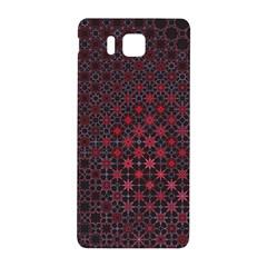 Star Patterns Samsung Galaxy Alpha Hardshell Back Case by Amaryn4rt