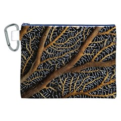 Trees Forests Pattern Canvas Cosmetic Bag (xxl) by Amaryn4rt