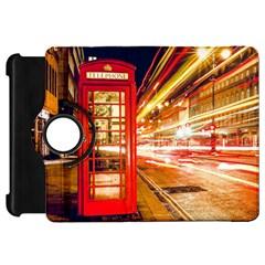 Telephone Box London Night Kindle Fire Hd 7  by Amaryn4rt