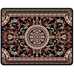 Vectorized Traditional Rug Style Of Traditional Patterns Fleece Blanket (Medium)