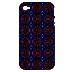 Alien Organic Apple Iphone 4/4s Hardshell Case (pc+silicone) by CannyMittsDesigns