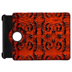 3d Metal Pattern On Wood Kindle Fire Hd 7  by Amaryn4rt