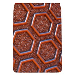 3d Abstract Patterns Hexagons Honeycomb Flap Covers (s)  by Amaryn4rt