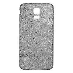 Abstract Flowing And Moving Liquid Metal Samsung Galaxy S5 Back Case (white)
