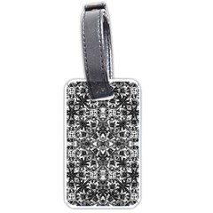Modern Oriental Pattern Luggage Tags (two Sides) by dflcprints