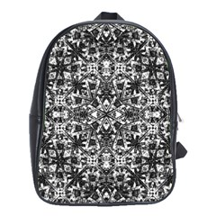 Modern Oriental Pattern School Bags (xl)  by dflcprints