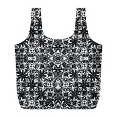 Modern Oriental Pattern Full Print Recycle Bags (l)  by dflcprints