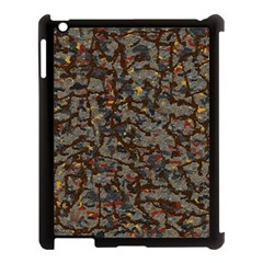A Complex Maze Generated Pattern Apple Ipad 3/4 Case (black)