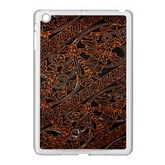 Art Traditional Indonesian Batik Pattern Apple Ipad Mini Case (white) by Amaryn4rt