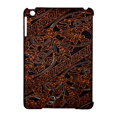 Art Traditional Indonesian Batik Pattern Apple Ipad Mini Hardshell Case (compatible With Smart Cover) by Amaryn4rt