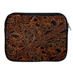 Art Traditional Indonesian Batik Pattern Apple Ipad 2/3/4 Zipper Cases by Amaryn4rt