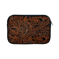 Art Traditional Indonesian Batik Pattern Apple Ipad Mini Zipper Cases by Amaryn4rt