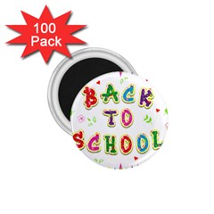 Back To School 1 75  Magnets (100 Pack)  by Amaryn4rt