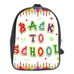 Back To School School Bags (xl)  by Amaryn4rt
