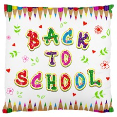 Back To School Standard Flano Cushion Case (two Sides) by Amaryn4rt