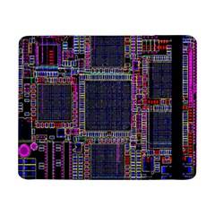 Technology Circuit Board Layout Pattern Samsung Galaxy Tab Pro 8 4  Flip Case by Amaryn4rt