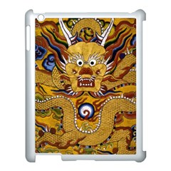 Chinese Dragon Pattern Apple Ipad 3/4 Case (white) by Amaryn4rt
