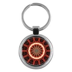 Circle Pattern Key Chains (round)  by Amaryn4rt