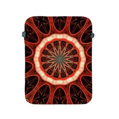 Circle Pattern Apple Ipad 2/3/4 Protective Soft Cases by Amaryn4rt