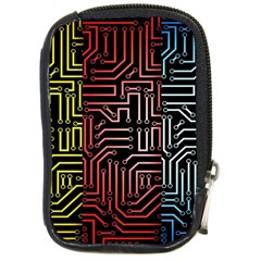 Circuit Board Seamless Patterns Set Compact Camera Cases by Amaryn4rt
