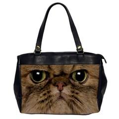 Cute Persian Cat Face In Closeup Office Handbags by Amaryn4rt