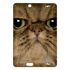 Cute Persian Cat Face In Closeup Amazon Kindle Fire Hd (2013) Hardshell Case by Amaryn4rt