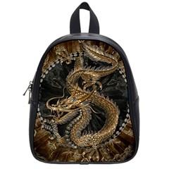 Dragon Pentagram School Bags (small)  by Amaryn4rt