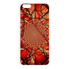 Dreamcatcher Stained Glass Apple Seamless iPhone 6 Plus/6S Plus Case (Transparent) by Amaryn4rt
