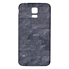 Excellent Seamless Slate Stone Floor Texture Samsung Galaxy S5 Back Case (white) by Amaryn4rt