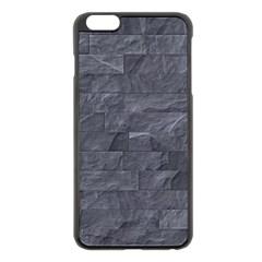 Excellent Seamless Slate Stone Floor Texture Apple Iphone 6 Plus/6s Plus Black Enamel Case by Amaryn4rt