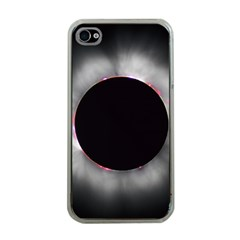 Solar Eclipse Apple Iphone 4 Case (clear)