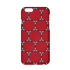Circle Red Purple Apple Iphone 6/6s Hardshell Case by Alisyart