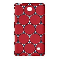 Circle Red Purple Samsung Galaxy Tab 4 (8 ) Hardshell Case  by Alisyart