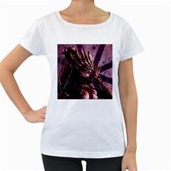Fantasy Art Legend Of The Five Rings Steve Argyle Fantasy Girls Women s Loose-Fit T-Shirt (White) by Onesevenart