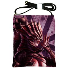 Fantasy Art Legend Of The Five Rings Steve Argyle Fantasy Girls Shoulder Sling Bags by Onesevenart