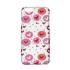 Crafts Chevron Cricle Pink Love Heart Valentine Apple Iphone 6/6s Hardshell Case by Alisyart