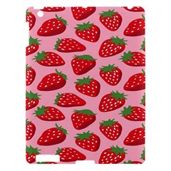 Fruitb Red Strawberries Apple Ipad 3/4 Hardshell Case by Alisyart