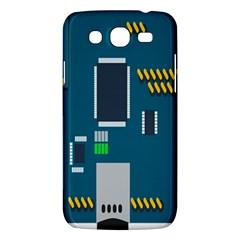 Amphisbaena Two Platform Dtn Node Vector File Samsung Galaxy Mega 5 8 I9152 Hardshell Case  by Onesevenart