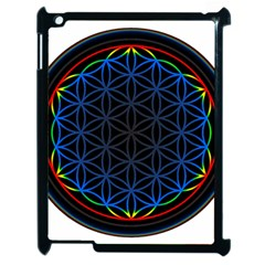Flower Of Life Apple Ipad 2 Case (black) by Onesevenart