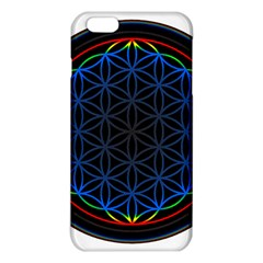 Flower Of Life Iphone 6 Plus/6s Plus Tpu Case by Onesevenart