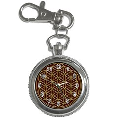 Flower Of Life Key Chain Watches by Onesevenart