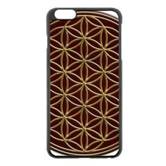 Flower Of Life Apple Iphone 6 Plus/6s Plus Black Enamel Case by Onesevenart