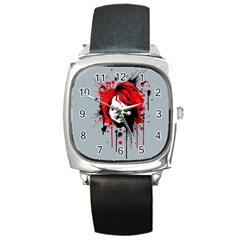 Good Guys Square Metal Watch by lvbart