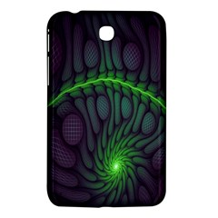 Light Cells Colorful Space Greeen Samsung Galaxy Tab 3 (7 ) P3200 Hardshell Case  by Alisyart